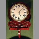 Mahogany 8'' dial clock